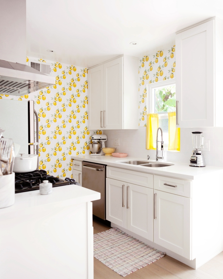 Vintage Lemon Kitchen