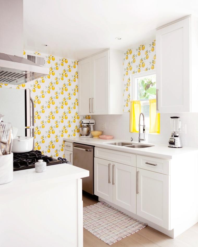 Vintage Lemon Kitchen