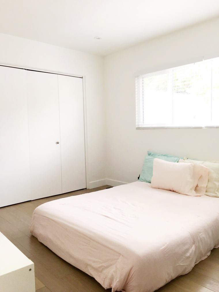 1960s bedroom before