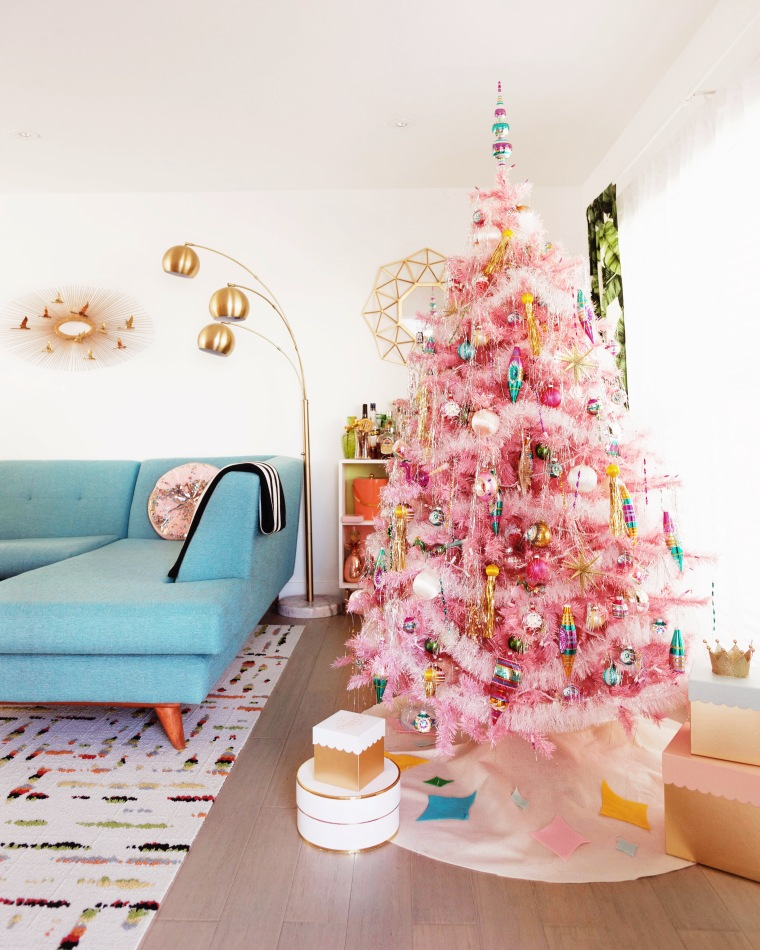Pink Vintage Christmas Tree.jpeg
