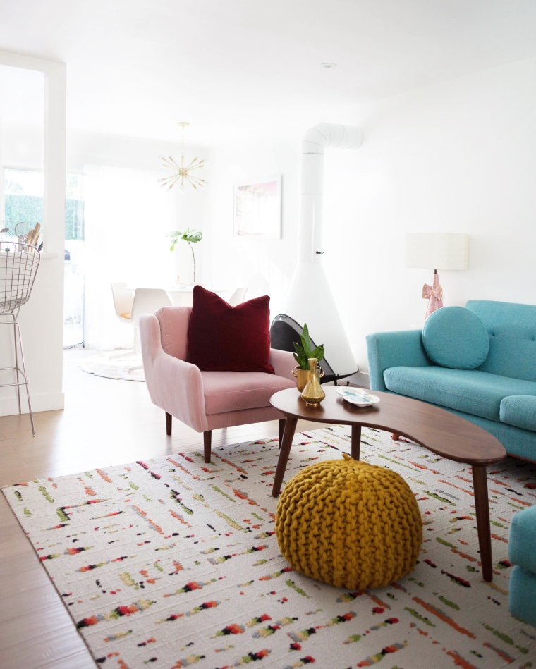 Blush Pink Matrix Chair from Article