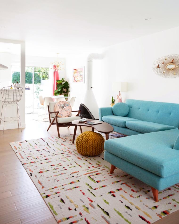 Blogger Krys Melo's 1960 Mid-Century Apartment