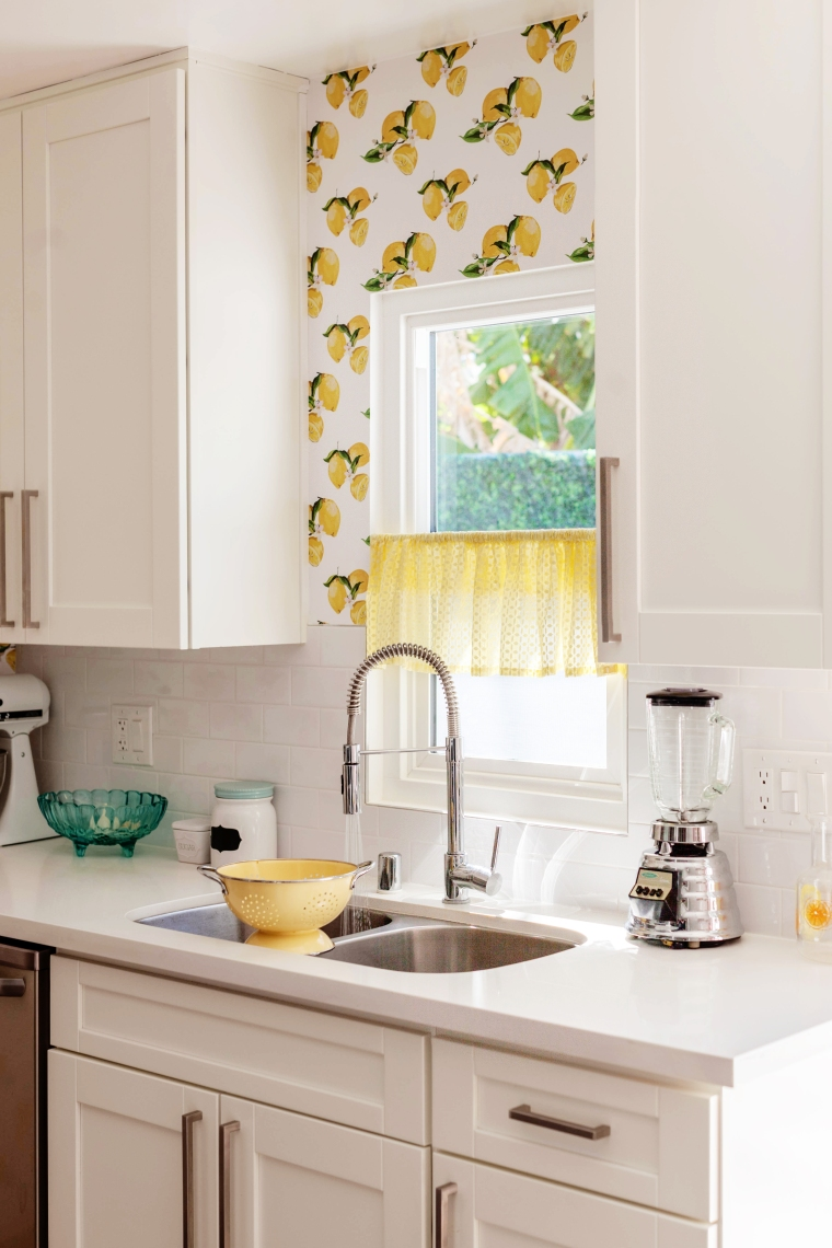 Cute Vintage Lemon Kitchen