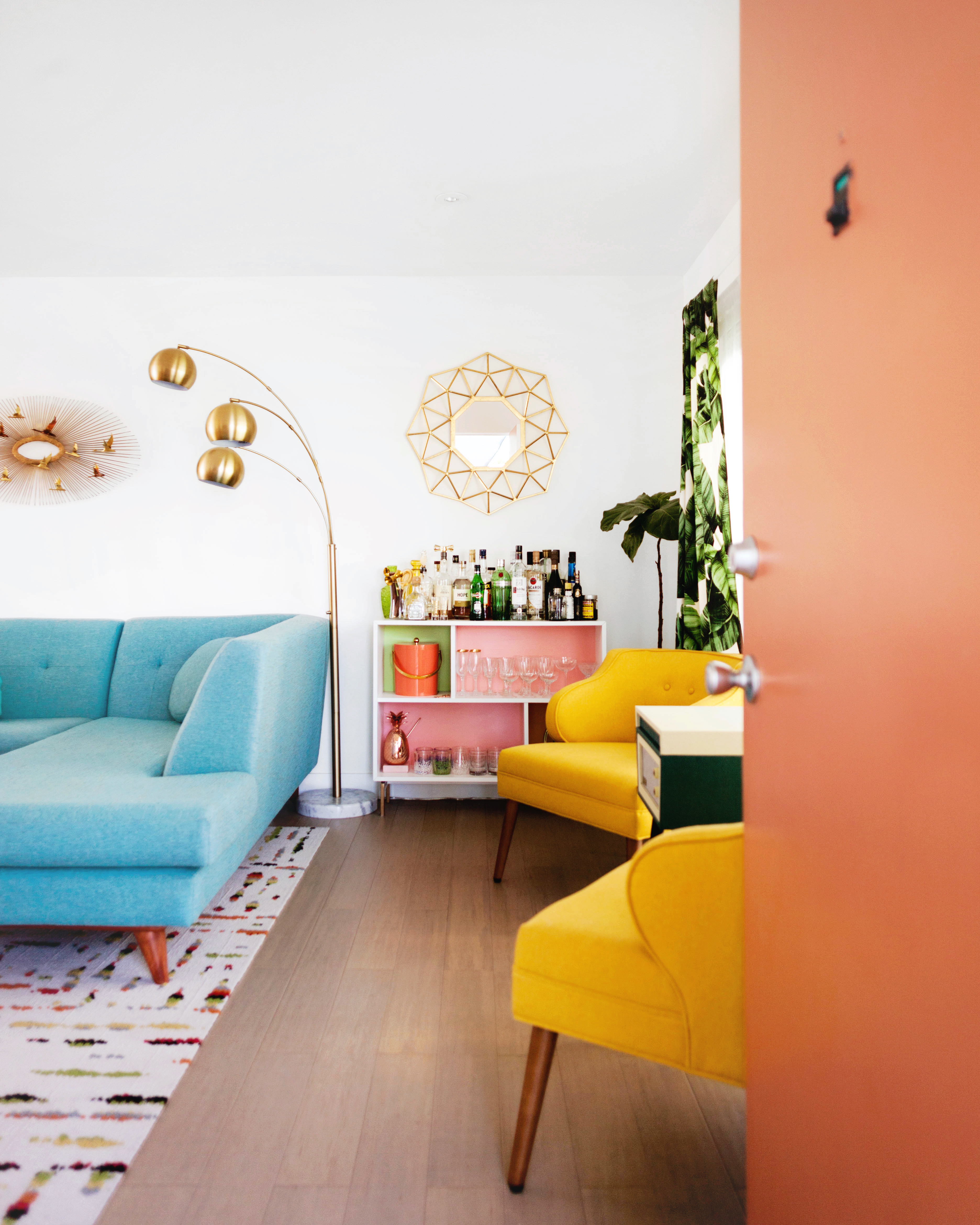 Welcome To Melodramaville   Blogger Krys Melou0027s Mid Century Apartment