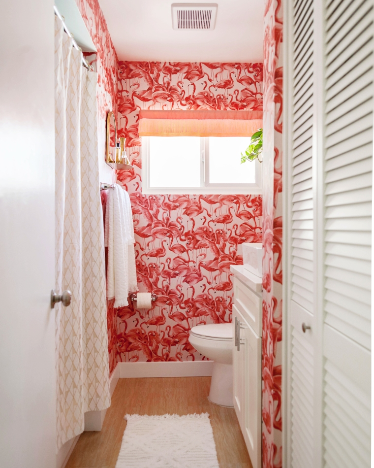 Retro Inspired Flamingo Bathroom.jpg