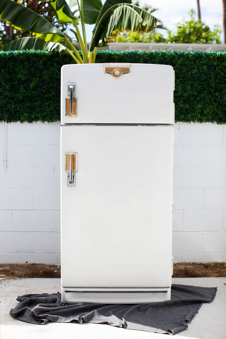 1950s Refrigerator Refurb After