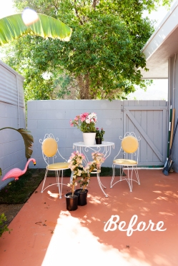 Melodrama Patio Makeover 2