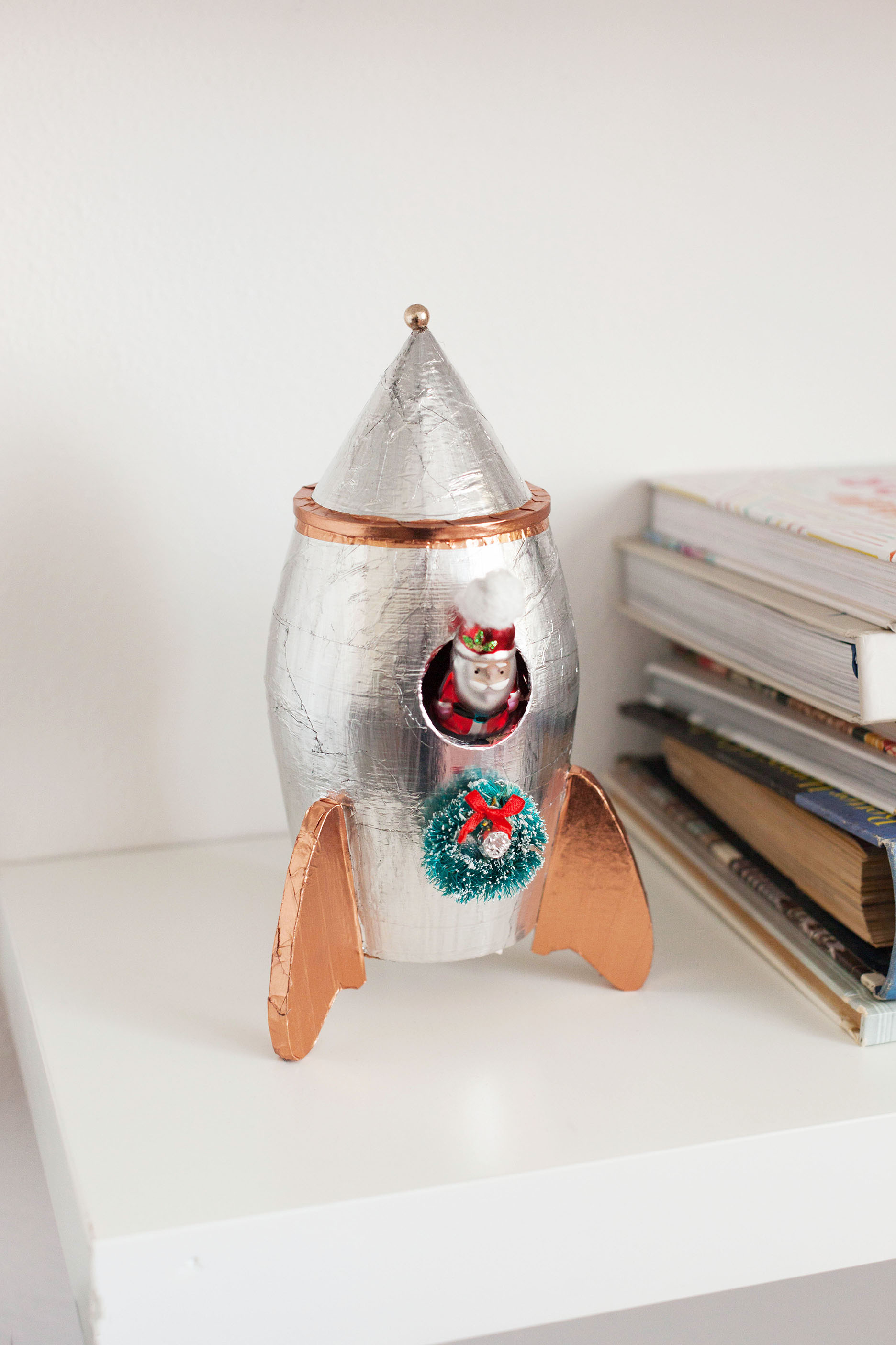 DIY Space themed Christmas decor
