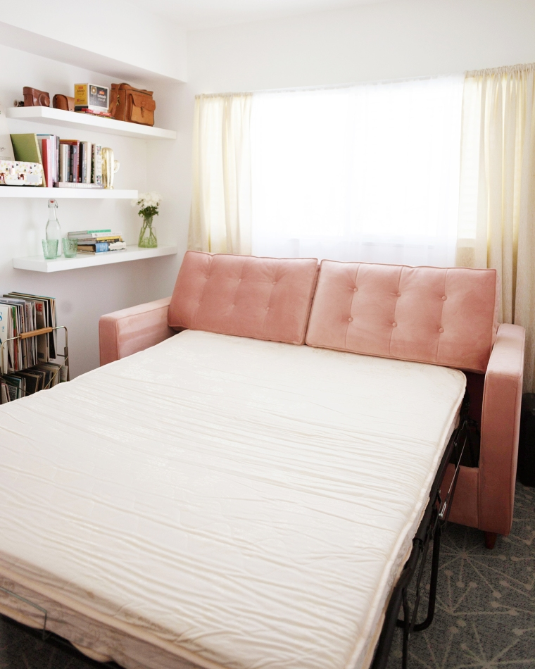 Office Guest Room with Retro Pullout Sofa-.jpg