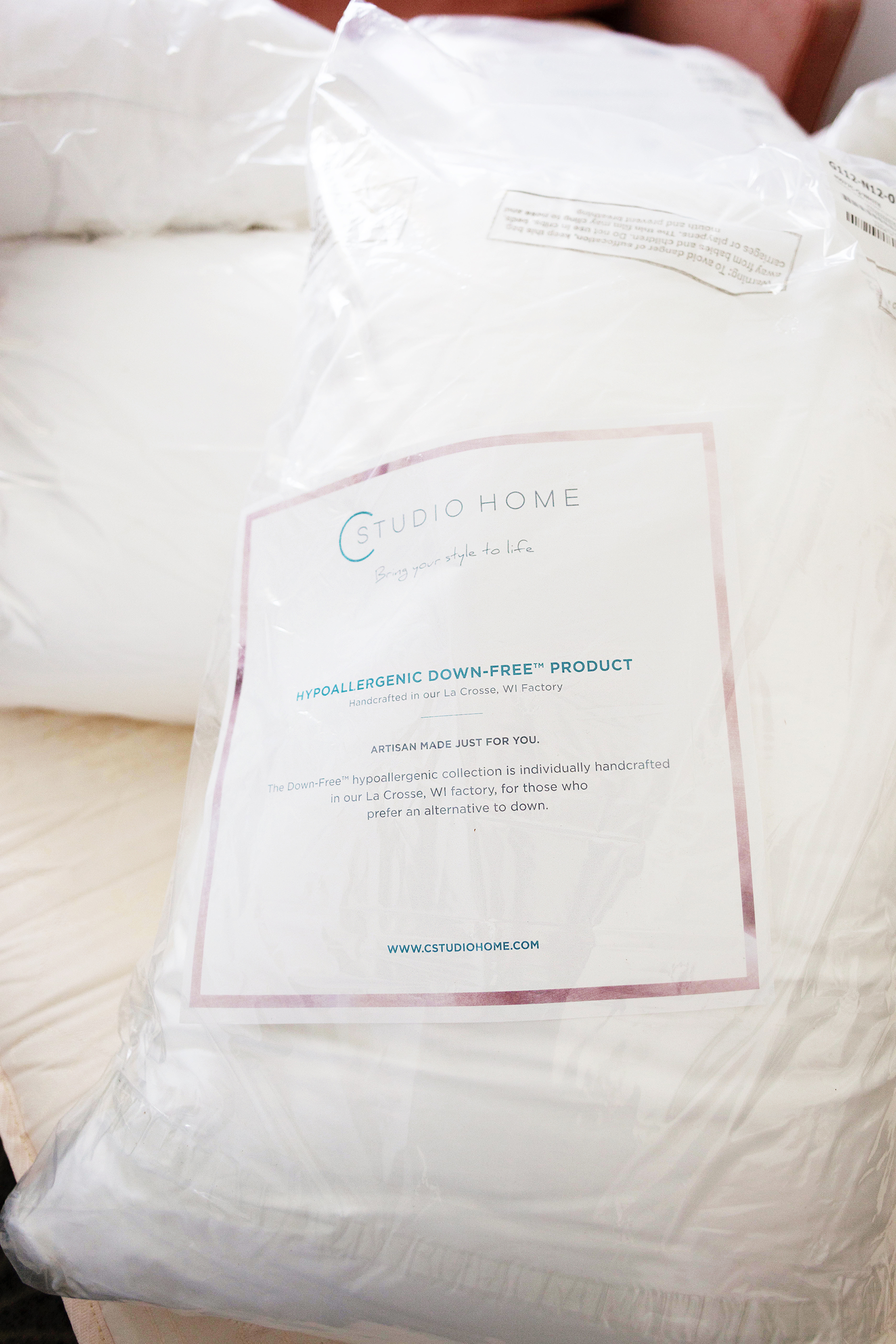 Responsible Down bedding from Cstudio Home-