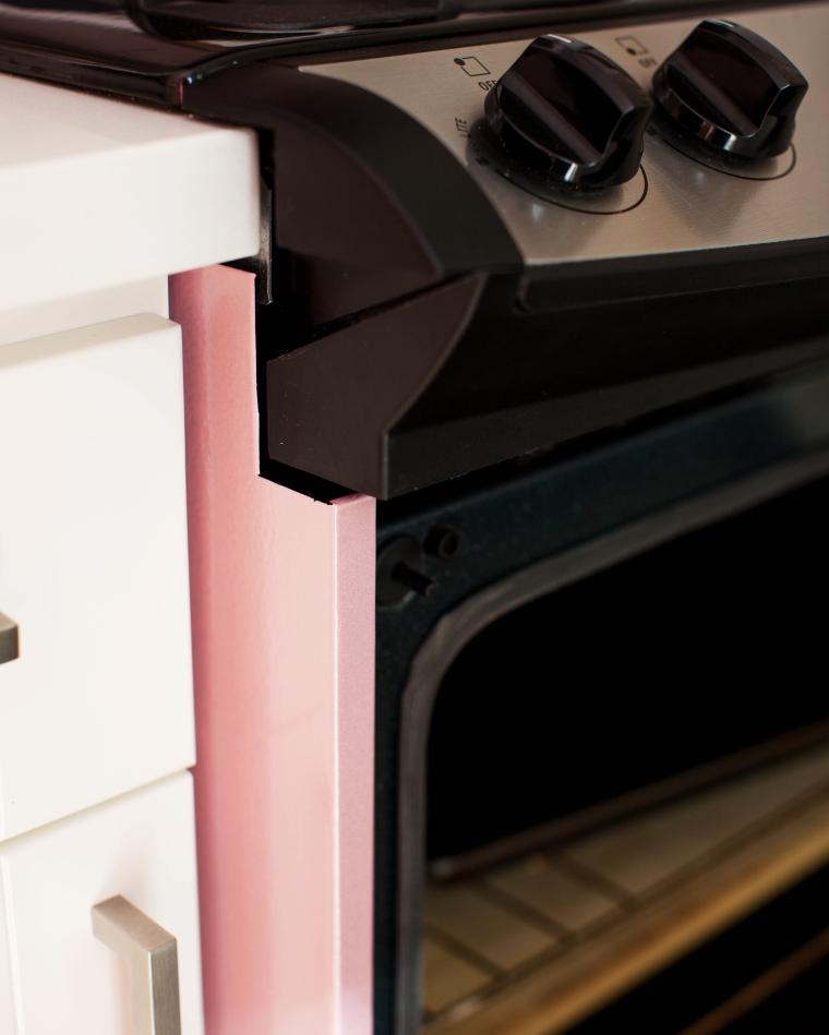 DIY Pink Stove